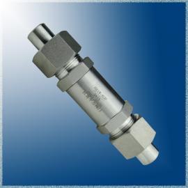 中力焊接式高压单向阀H21W