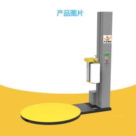 大宏托盘缠绕机plc控制预拉伸缠绕膜包装机TP1650F-L