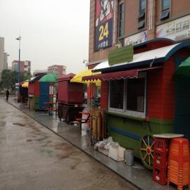 SG时景家具景区乐园金属户外移动售货亭饮料商品岗亭小吃奶茶外卖售货车
