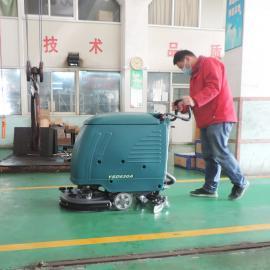 固化耐磨地面油污清洗拖地�C工�S��g用手推式洗地�C���访�YSD-530A