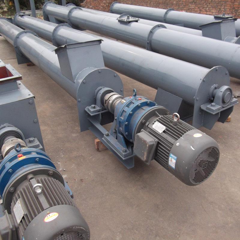 同鑫WLS无轴螺旋给料机机械定做U型管式螺旋输送机
