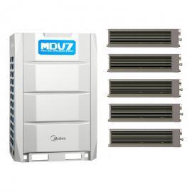 Midea(美的)美的MDV7商yongzhong央空调 美�mu盏�VRV系列 美的变频tianhua机MDV系列