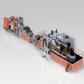 金韦尔ASA/PMMA共挤薄膜生产线
