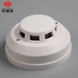 宏盛佳继电器烟感报警器开关量信号24V输出烟雾探测器烟雾报警器 JTY-GD-HA801JTY-GD-HA801
