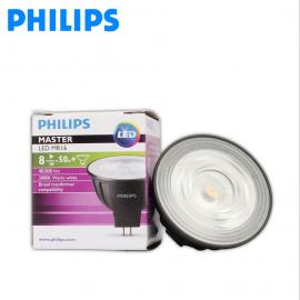 PHILIPS飞利浦MASTER LED MR16 8W高亮型调光灯杯8-50W