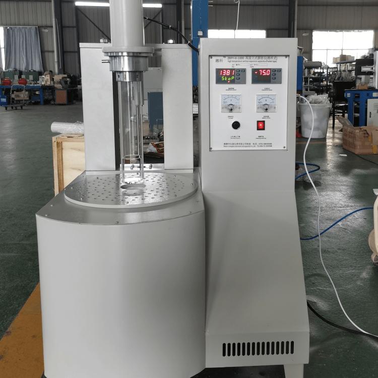 高温立式膨胀仪 推杆式ZRPY-III-1000群弘仪器