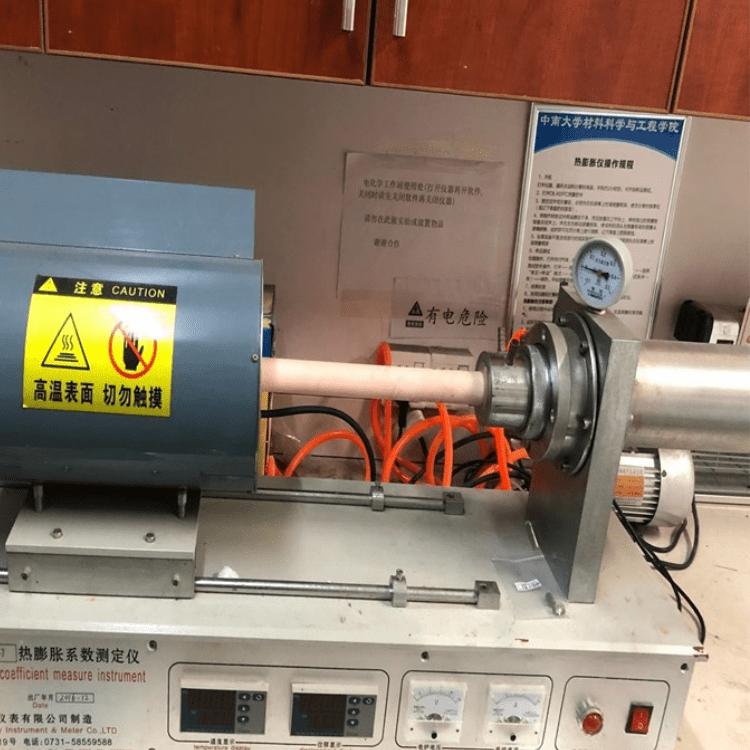 热膨胀系数测定仪推杆式膨胀仪ZRPY-1000群弘仪器