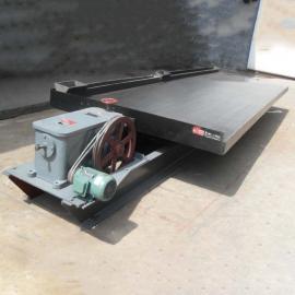 国邦6S小槽钢支架摇床 沙金选矿大槽钢摇床设备