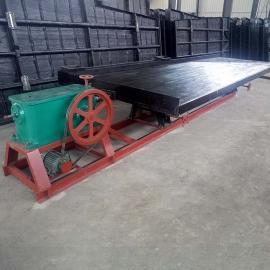 国邦6-S玻璃钢选矿摇床 炉渣冶炼渣贵金属回收摇床 河砂淘金设备