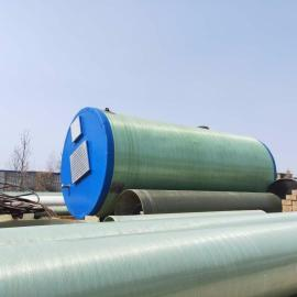 宏利恒一体化玻璃钢预制提升泵站