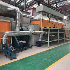 清大环保铸造厂催化燃烧设备适用状况催化燃烧装置老厂经验足