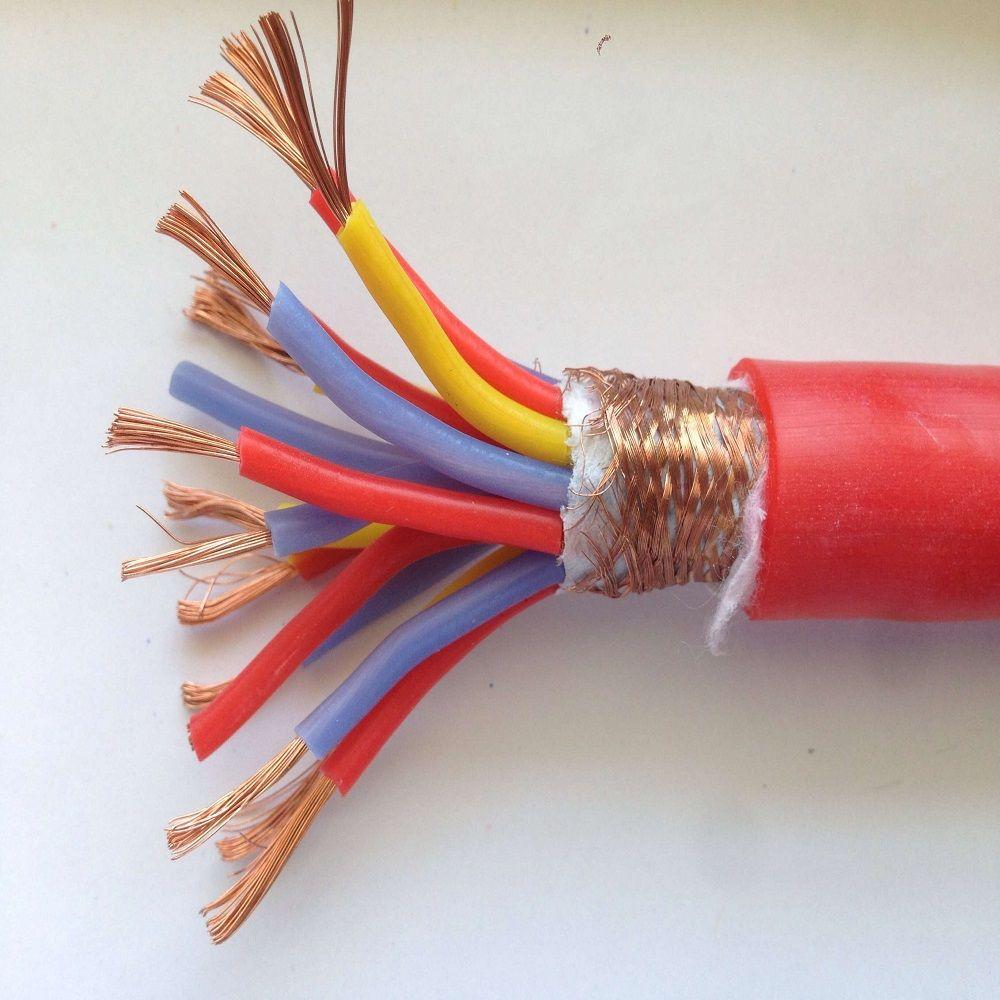皖杰阻燃防腐硅橡�z屏蔽信���|ZR-KF46GP-4*2.5