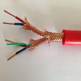 阻燃硅橡胶铠装屏蔽电缆ZRA-DJF46GP32B-1*3*1.5