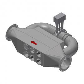 绿谷环保工厂600kw发电机组黑烟治理设备生产 脉冲除尘器GRVNES-CYJ