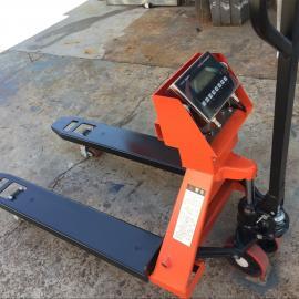 汉衡2.5吨防爆电子叉车秤 2.5t带电子秤的地牛2500kg称重叉车SCS-HHC