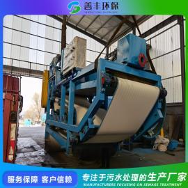 带式污泥压滤机 带式压滤机的结构特点 诸城善丰机械