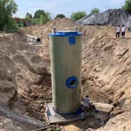 宏利恒加工定制一体化污水提升泵站