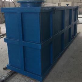 惠政生产玻璃钢污水方形水箱 整体式手工成型