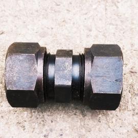 GLT碳钢高压卡套式直通液压接头GB73737-14#