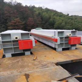 泳盛1250隔膜压滤机 自动板框压滤设备 污泥输送带抗高压污水泵200平方
