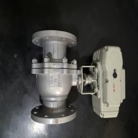 乾仪不锈钢电动球阀 941F-25P DN50Q941H-16P