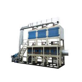 祥元催化燃烧废气处理成套设备 PLC控制活性炭吸附脱附废气净化器定制