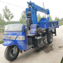 久征3吨三轮车随车吊 全自动液压支腿 小型背树移树吊jz