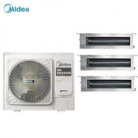 Midea(美的)美的户式中央空调4匹一拖三 美的变频多联机4HP主机 美的空调MDVH-V100W/N1