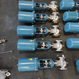 乾仪ZDLP-16P不锈钢电子式电动调节阀 ZDLP-25PQ941H-16P