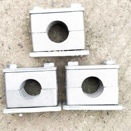 GLT高强度耐高温重型单层不锈钢液压管夹THAG1-445#
