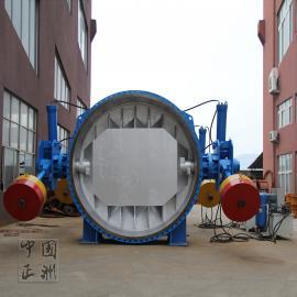 双重锤液控阀 水轮机液控缓闭止回蝶阀HD7s43H正洲