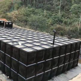 防腐地埋镀锌钢板水箱宏利恒