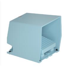 施耐德进口 XPE脚踏开关 带盖,单踏,蓝色XPEM510