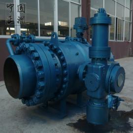 水电站水轮机蓄能式液控球阀HQ747F正洲