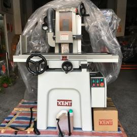 建德小型手摇平面磨床 高精度0.002mm手动磨床干湿式两用KGS-618M