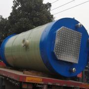 环保型污水提升泵站宏利恒