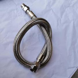 潮湿地段机械连接304不锈钢防爆挠性管BNG-DN32*700
