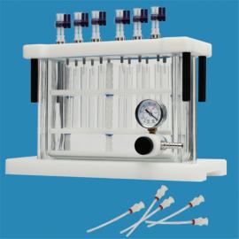 旌派(Jipadsh) 方形固相萃取装置玻璃真空槽Jipad-12SPEB