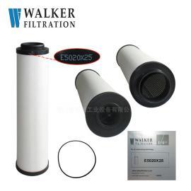 Walker(沃克)精密 过滤器 滤芯E5020X25