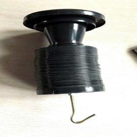 祥元可伸缩喷塑镀锌文式管弹簧除尘骨架定制