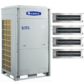 格力GREE格力全变频风管机 格力多联机 格力空调联排独栋别墅机型GMV-NHDR25P/B