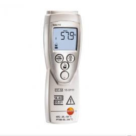 德图Testo高精度测温仪 - PTB认证testo 112