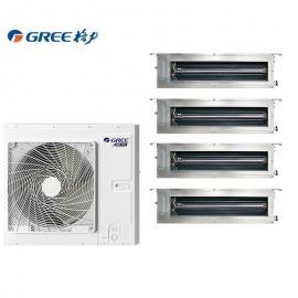 格力GREE格力中央空调5匹一拖四 格力5HP多联机1拖4 格力风管机GMV-H120WL/Fd
