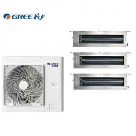 GREE格力格力家用中央空调4匹一拖三 格力空调3匹1拖3 格力风管机GMV-H80WL/Fd