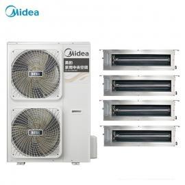 Midea(美的)美的家庭中央空调全变频多联机 美的空调5匹一拖四一拖五MDVH-V160W/N1