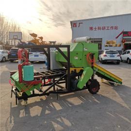 圣泰青贮圆捆草料打包机 玉米秸秆裹包新技术 YK5552