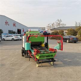 圣泰玉米秸秆打捆打包机产量 青贮饲料全自动包膜机 YK5552