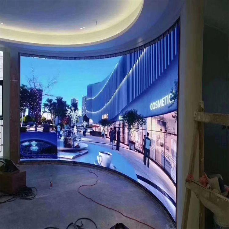 �Z�S鑫LED�子屏���h室P2全彩多媒�w�@示屏