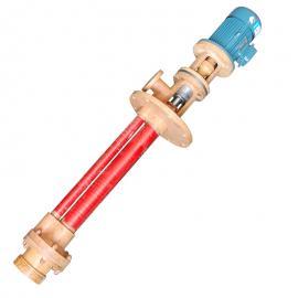 �B泉耐腐�g泵 玻璃�液下泵 不�P�液下泵 立式液下泵50FY-35