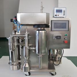 归永5升氮气循环喷雾干燥机 碳酸钠PVP造粒喷雾干燥装置GY-YJGZ-5G